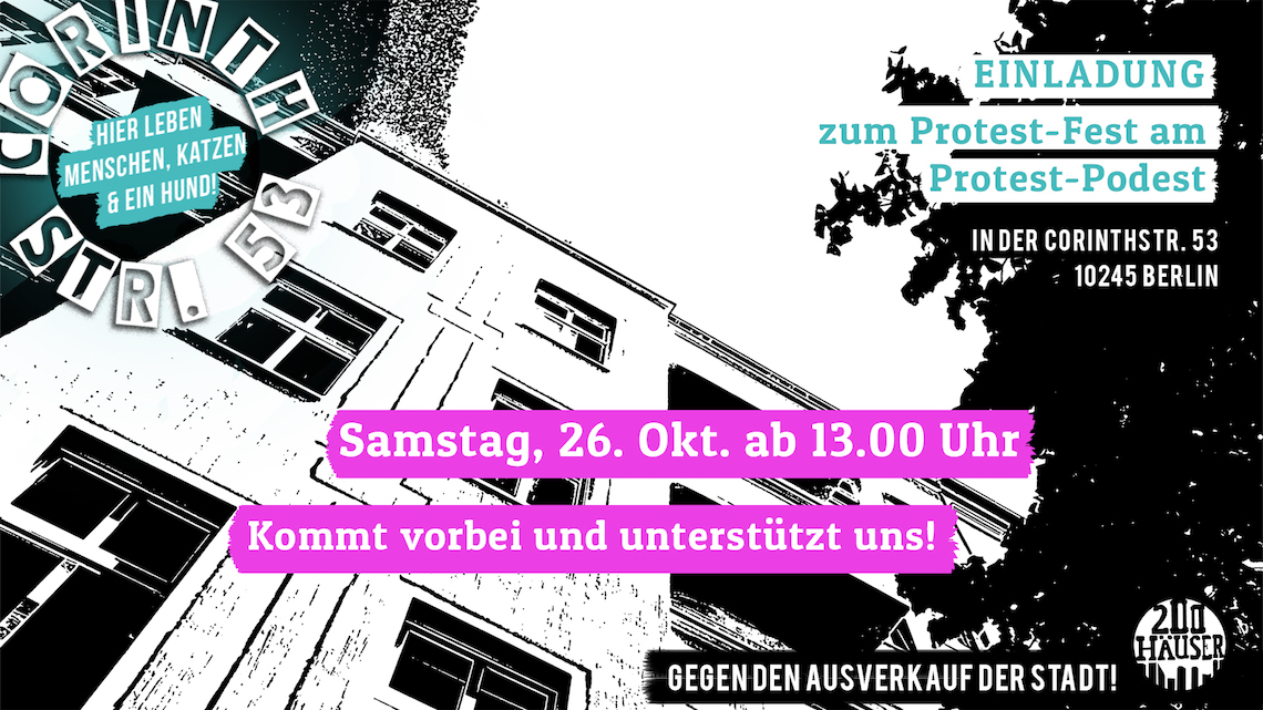 Flyer ProtestFest am ProtestPodest